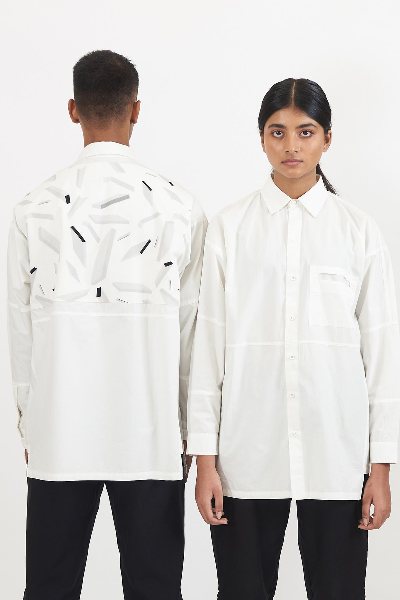 Space Debris Classic White Shirt | EDITION OF 50