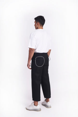 'On and Off' Mesh Pant