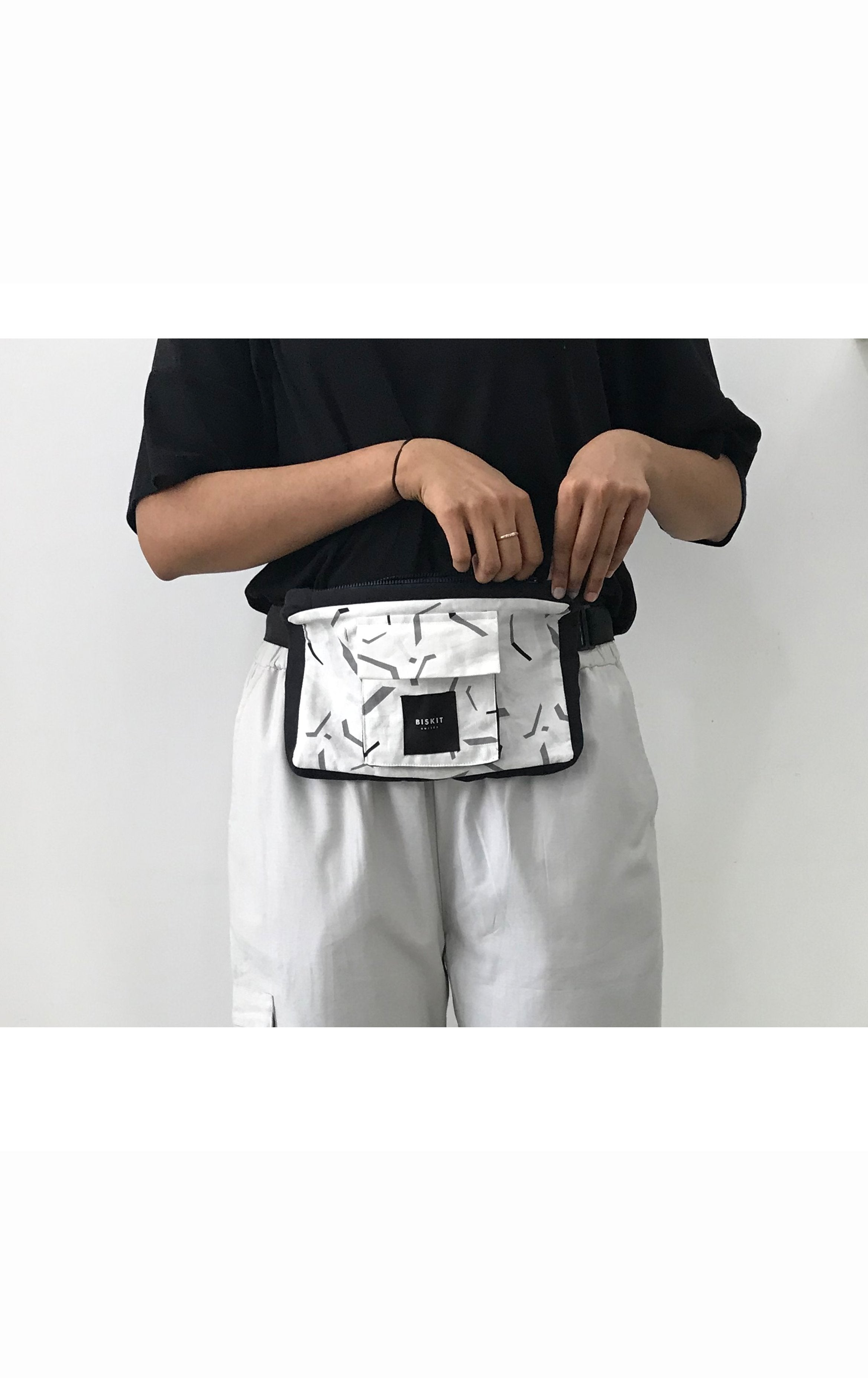 'Space Debris' Fanny Pack