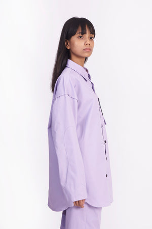 Frequency Lavender Shirt