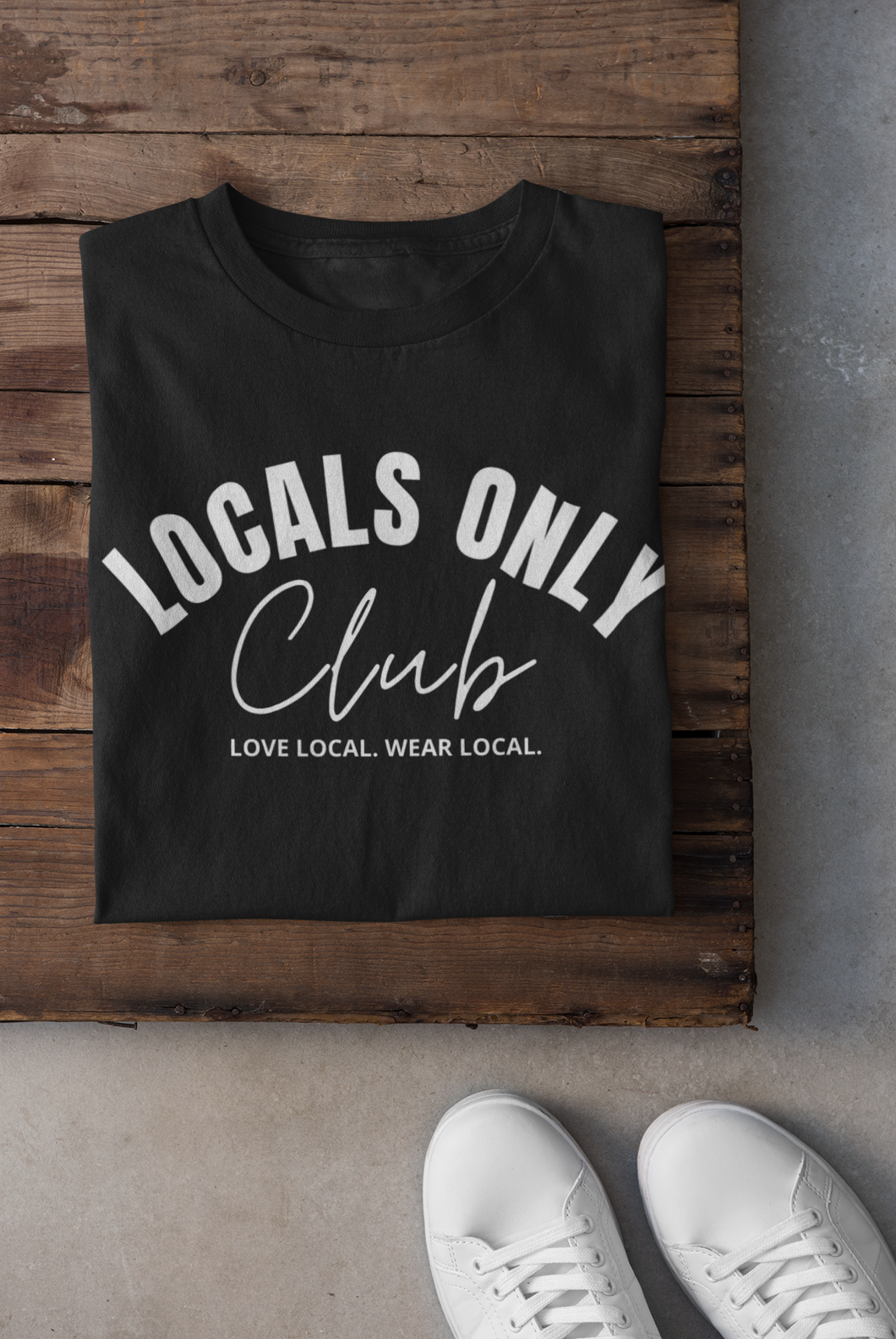 Locals Only Club Tee