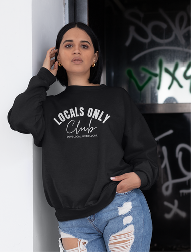 Locals Only Club Crewneck