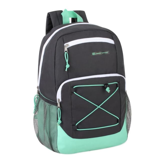 71b42f39742c Wholesale Urban Sport 18 Inch Deluxe Bungee Backpack - 5 Color Girls  Assortment - General Merchandise