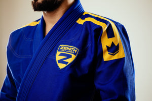 Zenith Sport Gi Blue - Men - Chest and Shoulder Patch