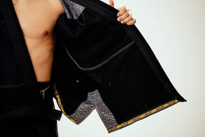 Zenith Elite Gi Black - Men - Inside The Gi Logo