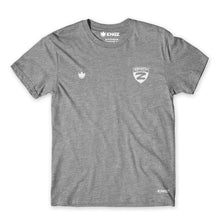 Load image into Gallery viewer, Zenith Basic Tee - Women's - Grey - Front View