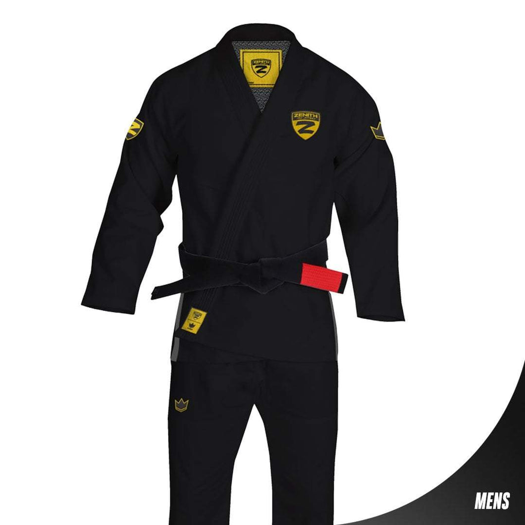 Zenith Elite Gi Black - Men - Full View