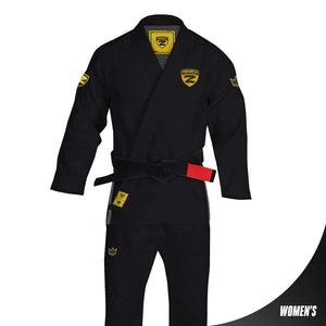 Zenith Elite Gi Black - Women - Zenith Team