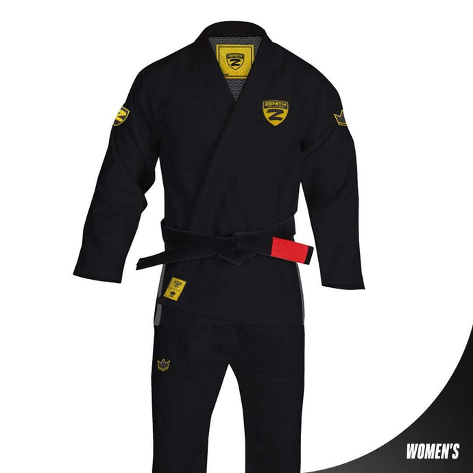 Zenith Elite Gi Black - Women