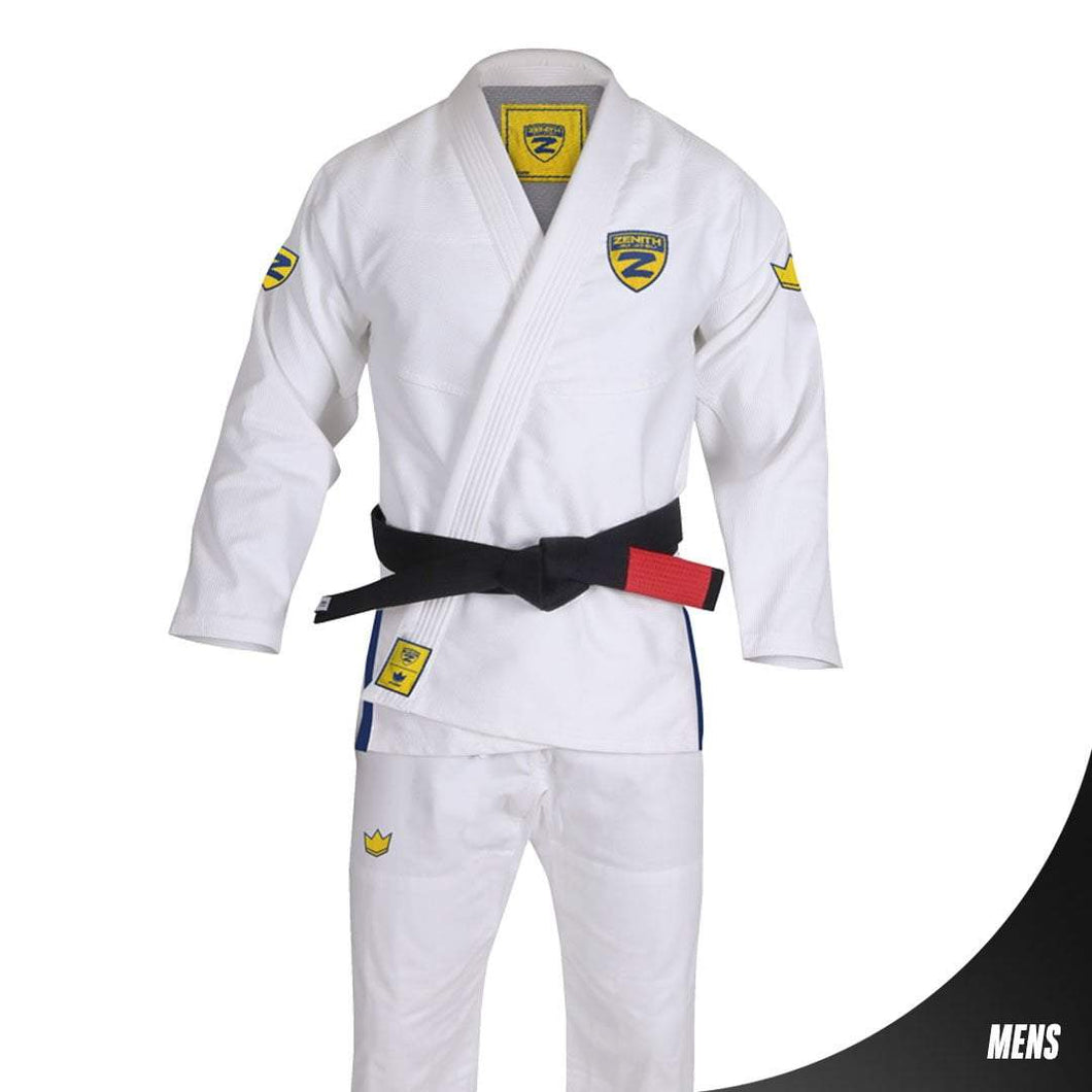 Zenith Elite Gi White - Men - Full View