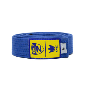 Zenith Adult Jiu Jitsu Belt Blue