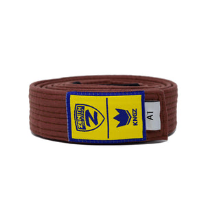 Zenith Adult Jiu Jitsu Belt Brown
