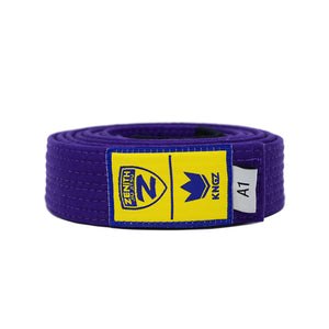 Zenith Adult Jiu Jitsu Belt Purple