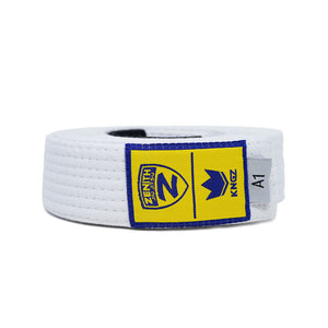 Zenith Adult Jiu Jitsu Belt White