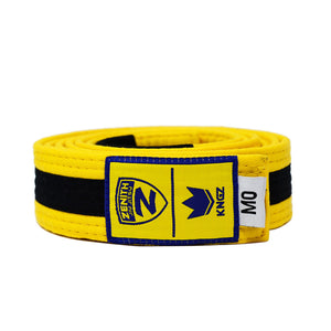 Zenith Kids Color and Black Jiu Jitsu Belt
