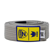 Load image into Gallery viewer, Zenith Kids Solid Jiu Jitsu Gray Belt