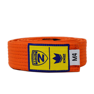 Zenith Kids Solid Jiu Jitsu Orange Belt