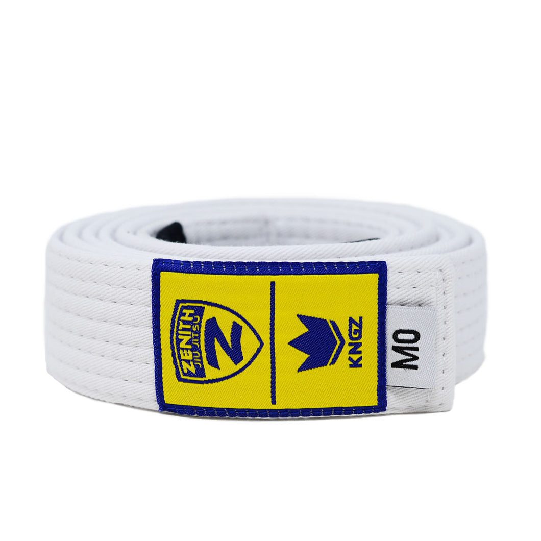 Zenith Kids Solid Jiu Jitsu White Belt