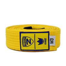 Load image into Gallery viewer, Zenith Kids Solid Jiu Jitsu Yellow Belt