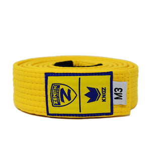 Zenith Kids Solid Jiu Jitsu Yellow Belt
