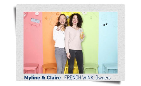 Claire obry and myline descamps