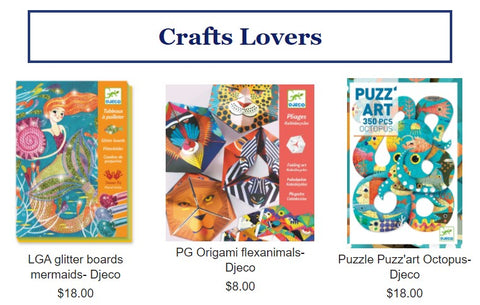 crafts lovers