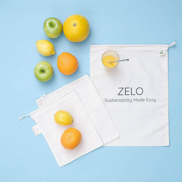 Zelo straw & bags bundle