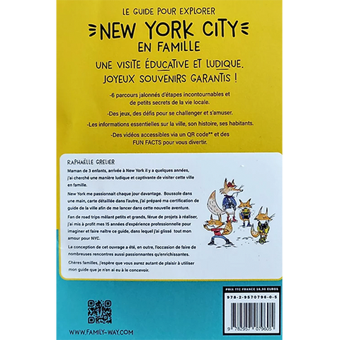 NYC Family Guide (in french) : Des jeux de piste pour explorer New York en famille