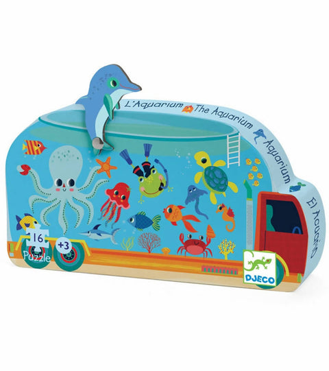 Puzzle The aquarium mini- Djeco