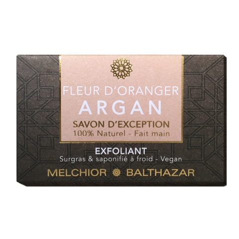 Luxury Exfoliating Orange Blossom Creamy Soap