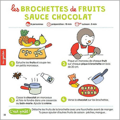 T'choupi mes recettes super simples - Editions Nathan