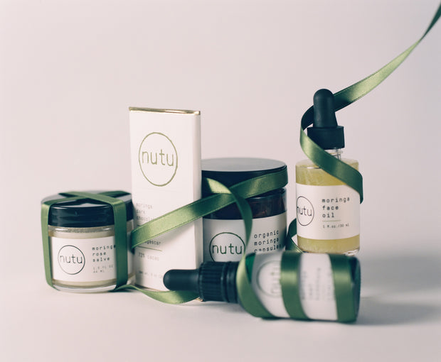 Clean Green Beauty Gift Set - powered by Moringa