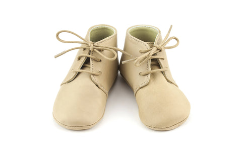 Little Leather Booties GABY by Calisson Little Royals