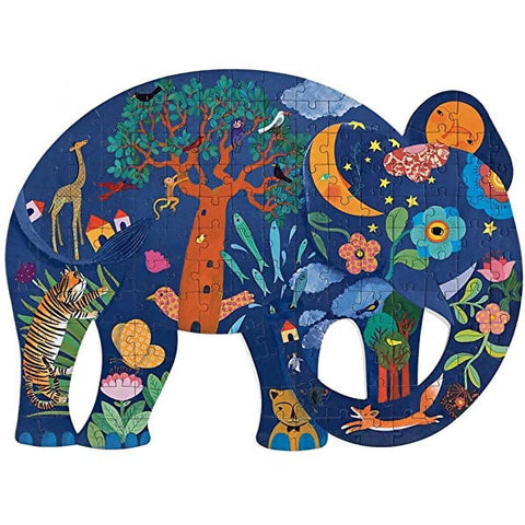 Puzzle Elephant 150 pieces- Djeco