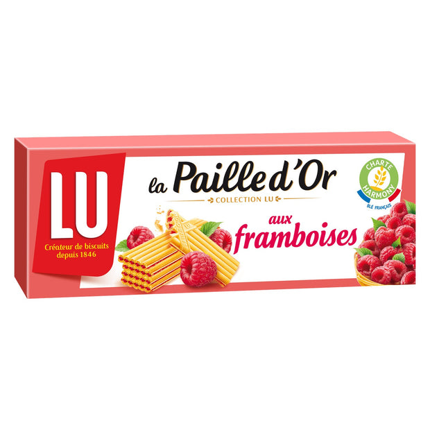 Lu Paille d'or Raspberry