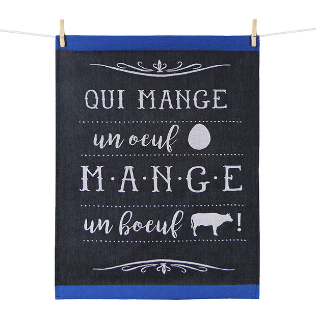 Kitchen Towel – Qui mange un oeuf