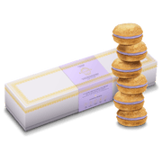 Lavender Dog Macarons (Box of 6)
