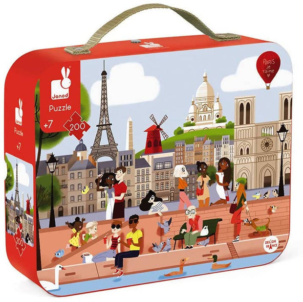 Puzzle Paris 200 pieces- JANOD