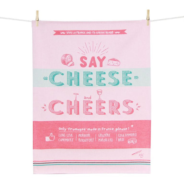 Kitchen Towel – Cheese and Cheers