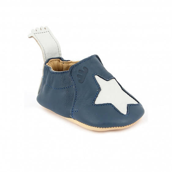 Easy Peasy Slippers, Blumoo Star Denim