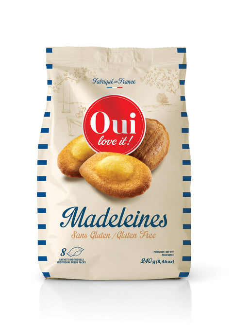 Gluten free French Madeleines - Oui Love it !
