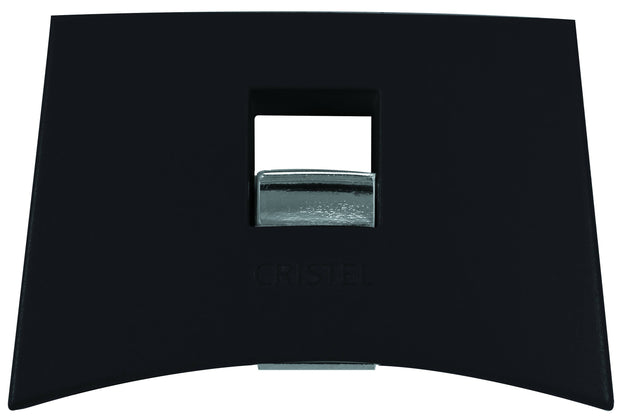 Cristel Black removable handle set (1 long + 2 side)