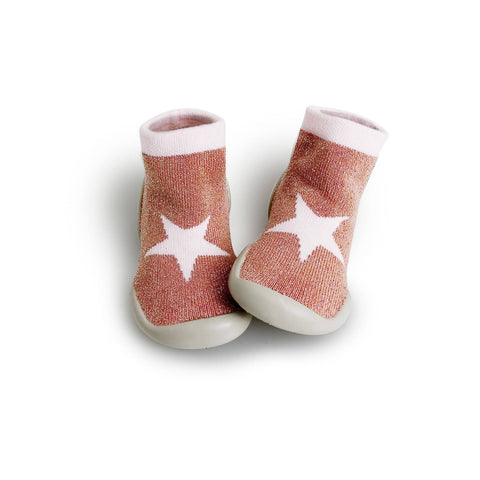 Collégien Slippers - Pink Star