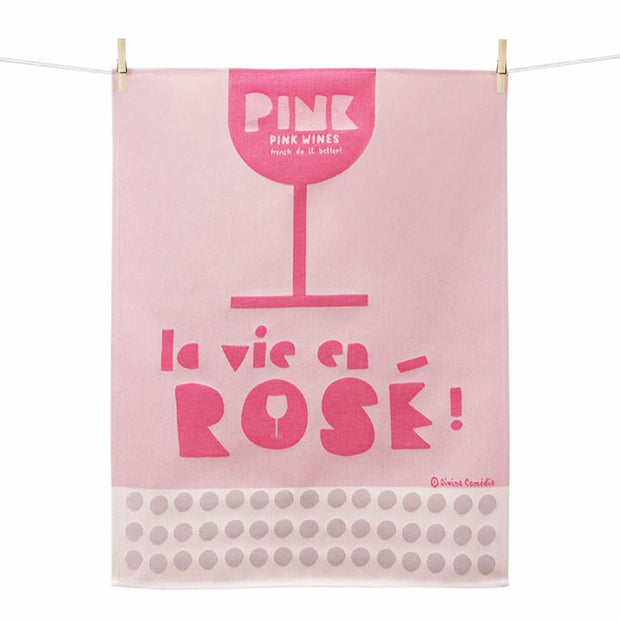 Kitchen Towel – La Vie en Rose