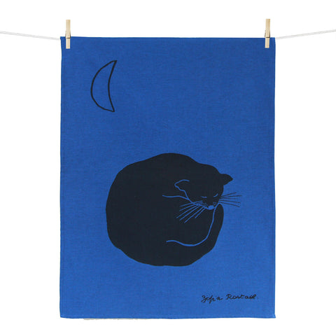 Kitchen Towel – Chat bleu
