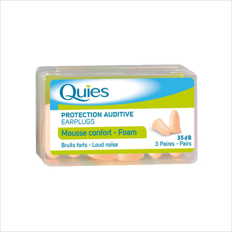 Foam Earplugs Neutral - Quies