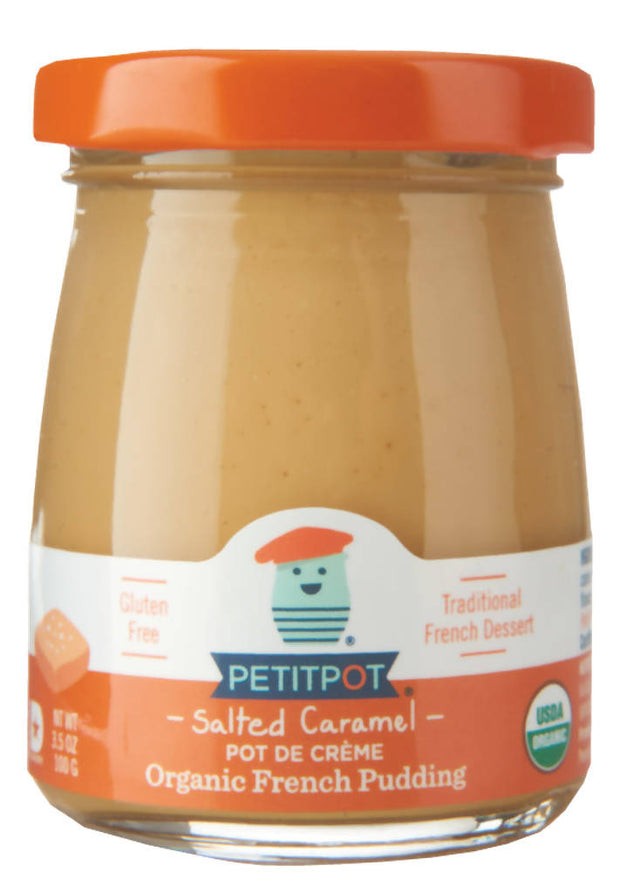 Set of 8 Pots de crème : Salted Caramel