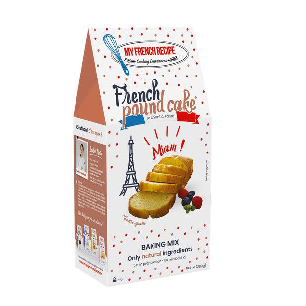 French pound cake baking mix