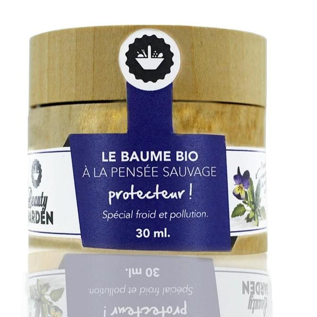 Organic Wild Pansy Protector Balm - Cold and Pollution