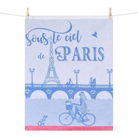 Kitchen Towel –  Sous le ciel de Paris